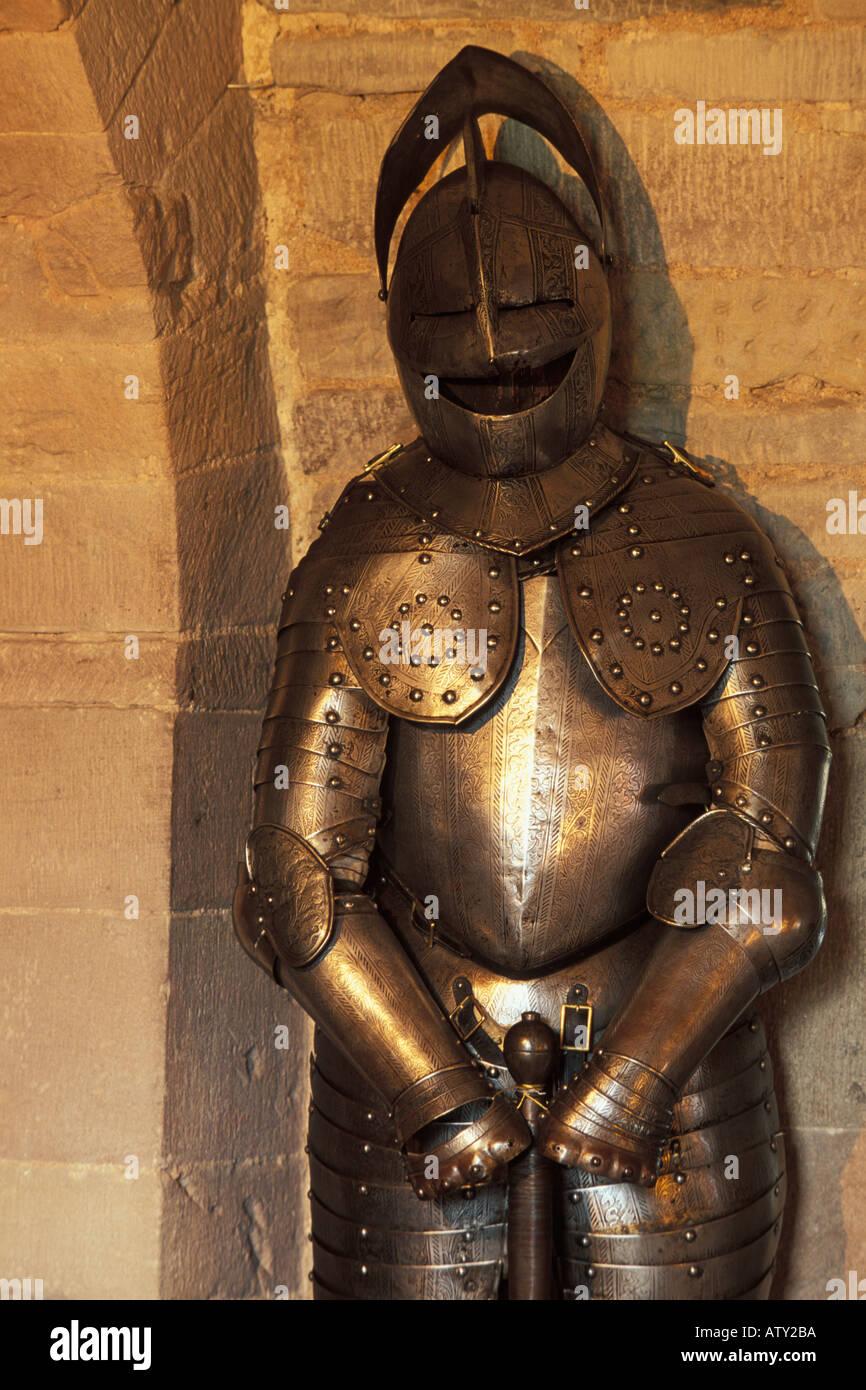 La Scozia, Angus, Glamis Castle, Armor Immagini Stock