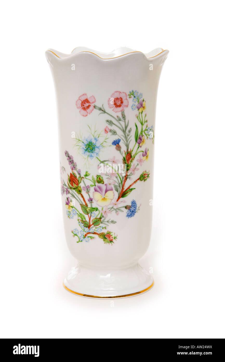 Aynsley bella bone china vase Immagini Stock