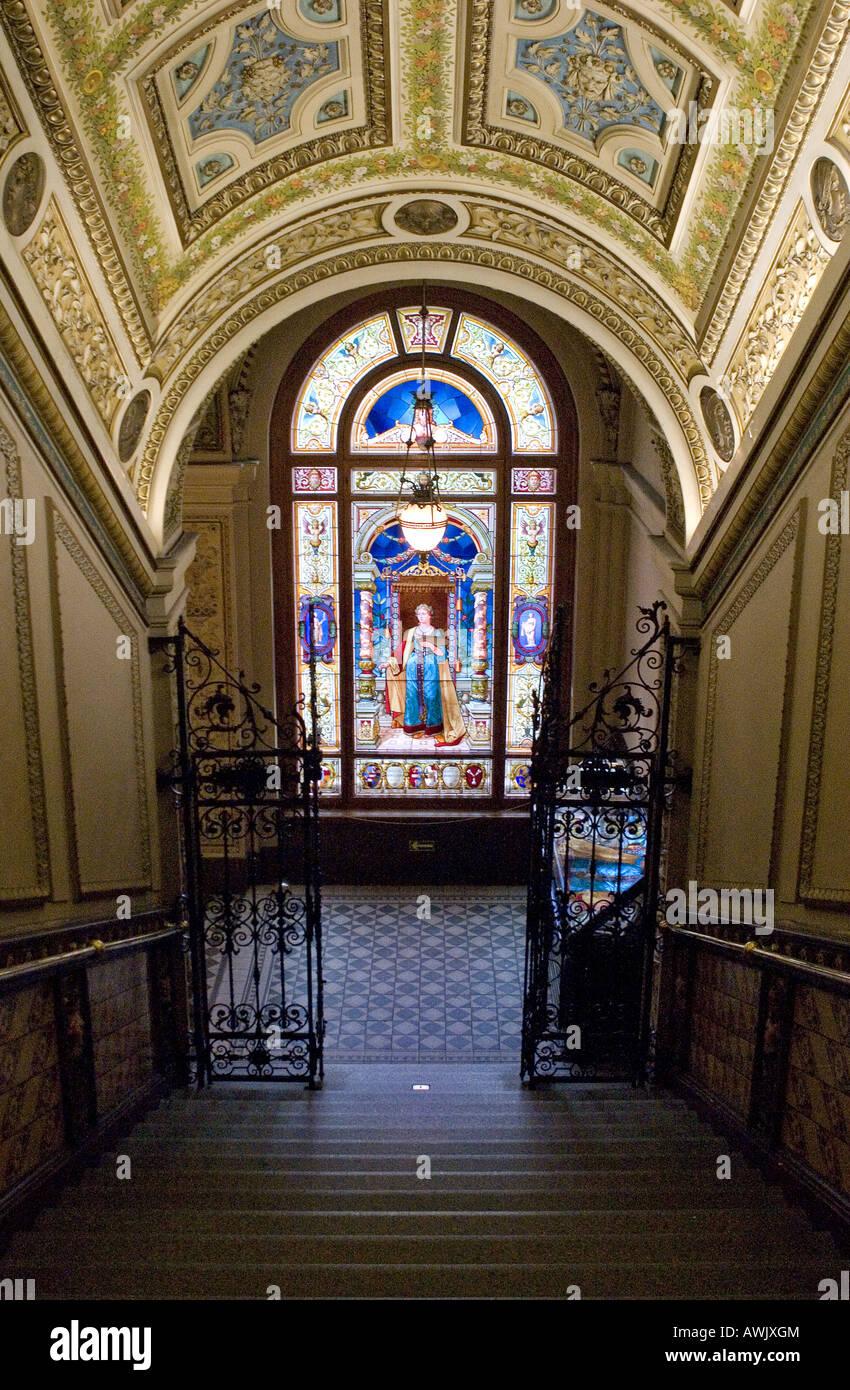 Museo delle Arti Decorative di Praga, Repubblica Ceca Immagini Stock
