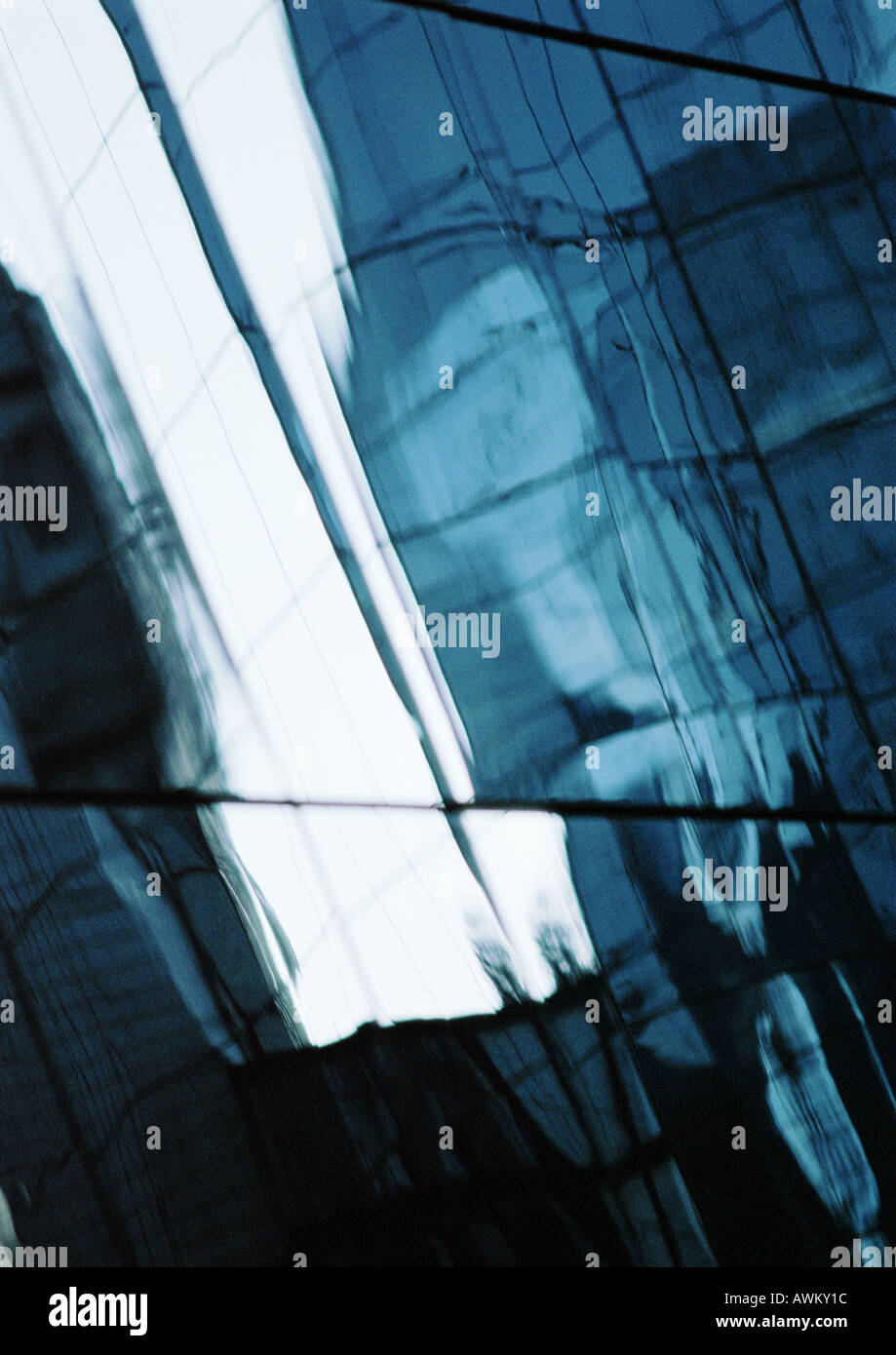 Riquadri della finestra, close-up Immagini Stock