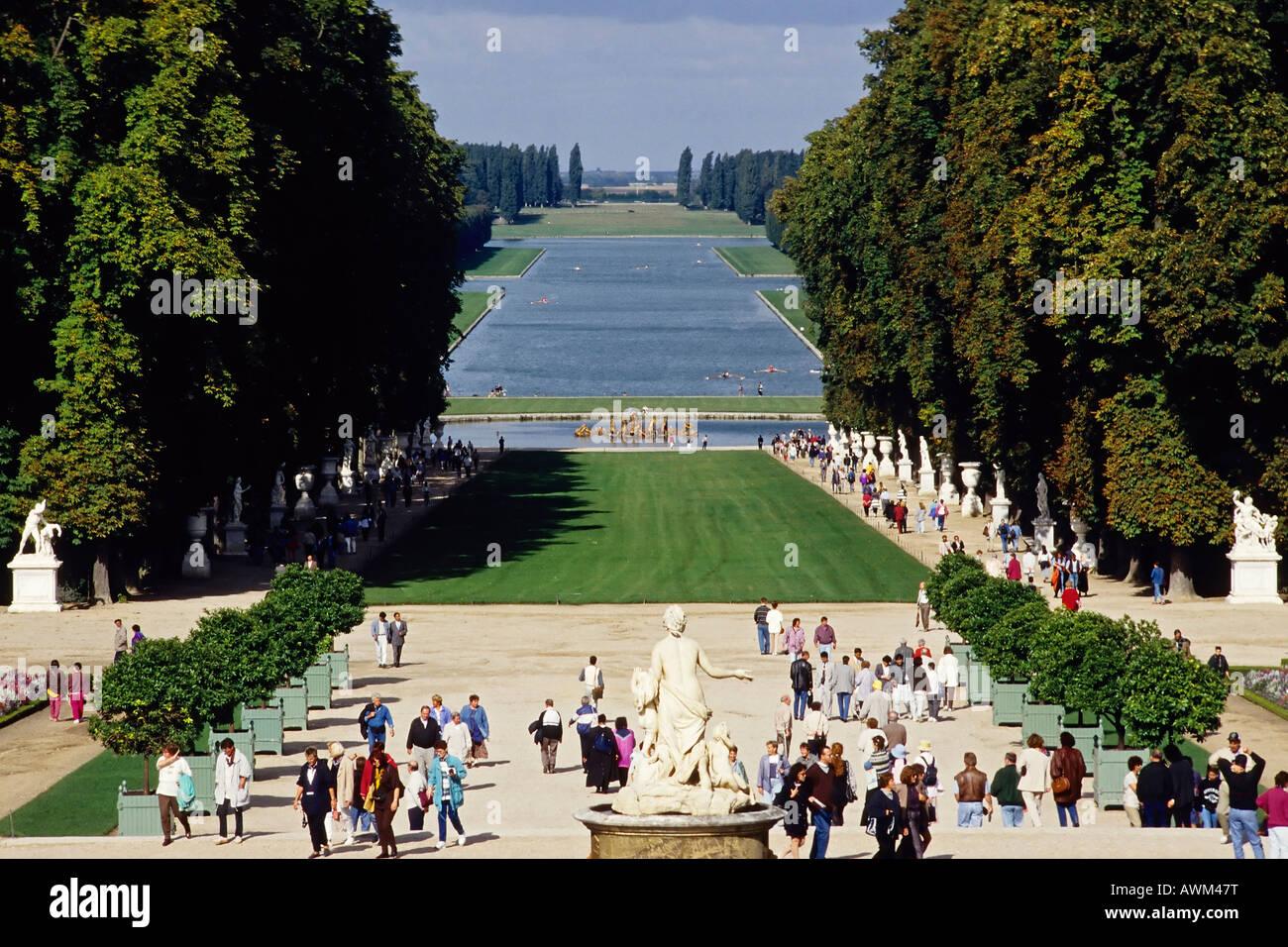 Giardini della reggia di versailles versailles francia europa