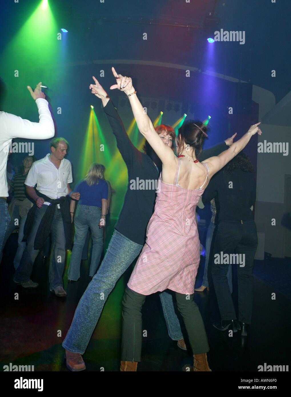 Night Club Reykjavik Islanda Immagini Stock