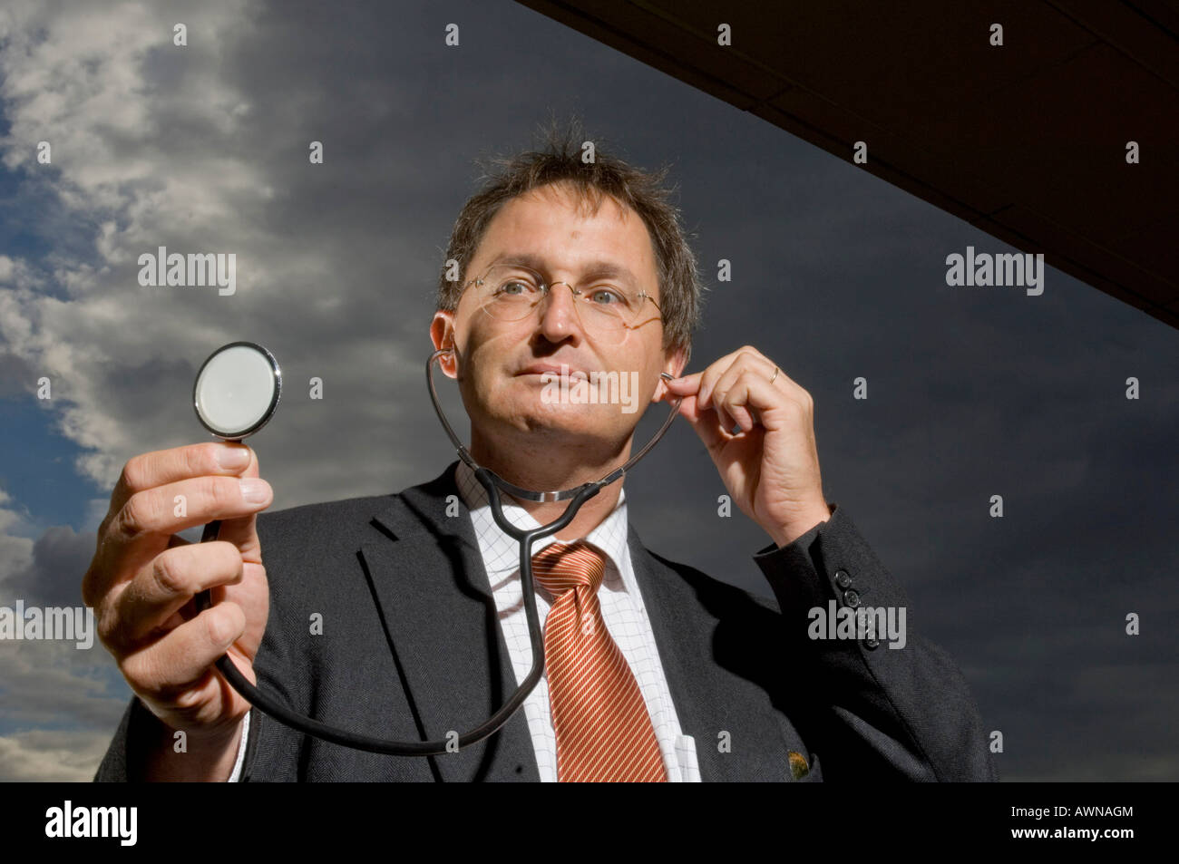 Guenther Jonitz, Presidente della Berlino camera medica, Germania Foto Stock