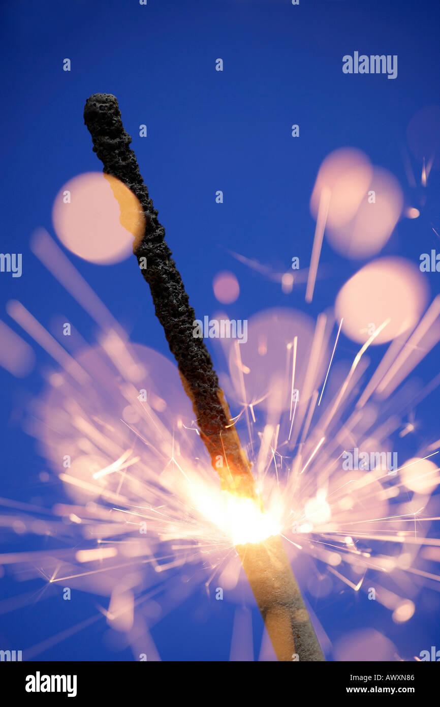 Sparkler Immagini Stock