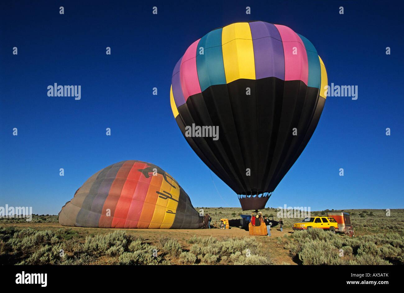 Palloni Ad Aria Calda.I Palloni Ad Aria Calda Vicino A Taos Nuovo Messico Usa America