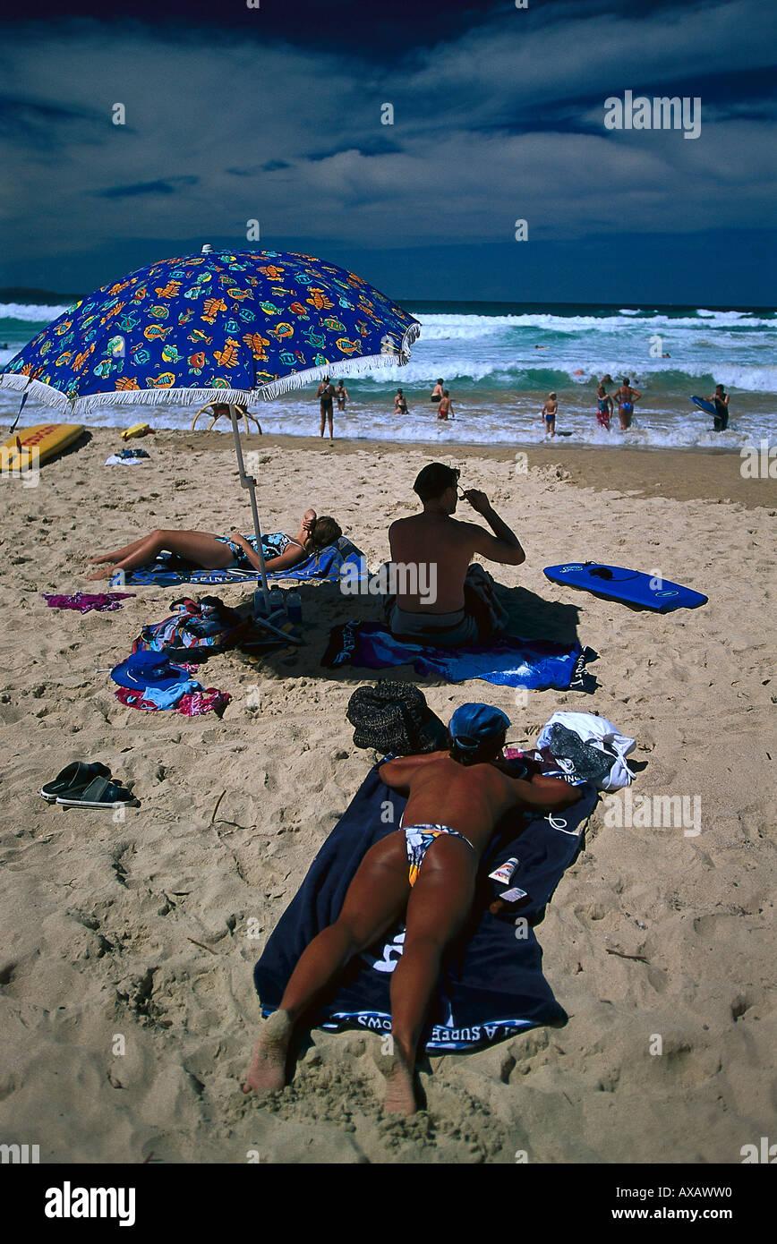 Manly Beach, Sydney, NSW Australia Foto Stock