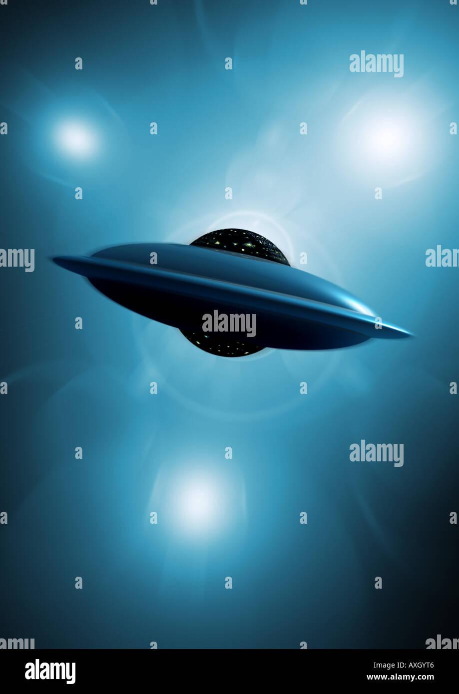 UFO Immagini Stock