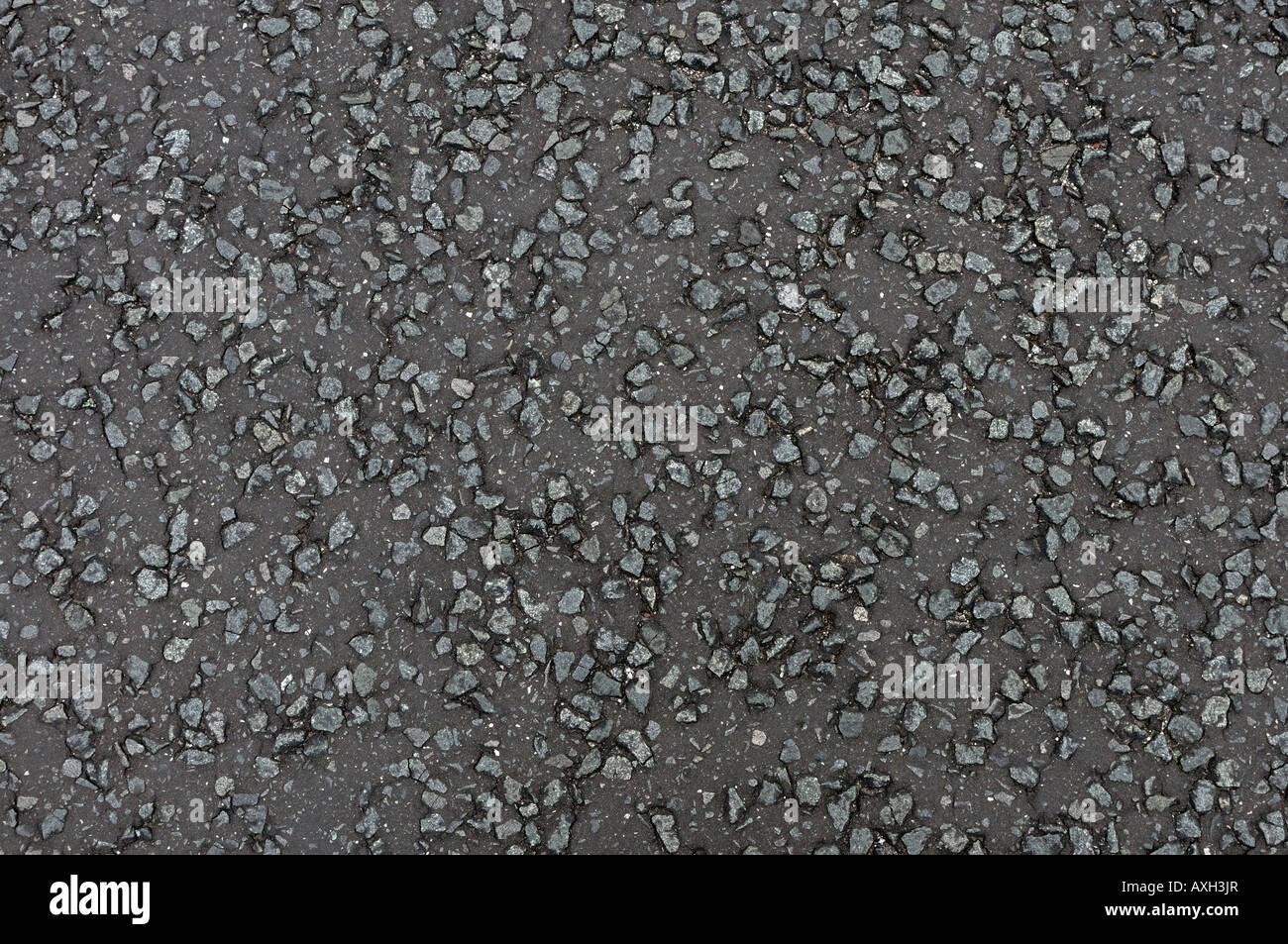 Strada asfaltata pattern Foto Stock