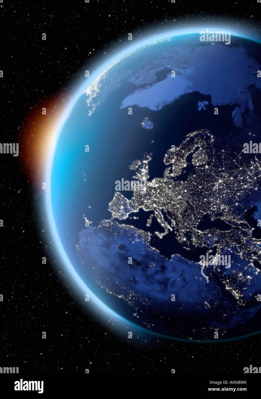 Italy satellite image immagini italy satellite image - Immagine di terra a colori ...