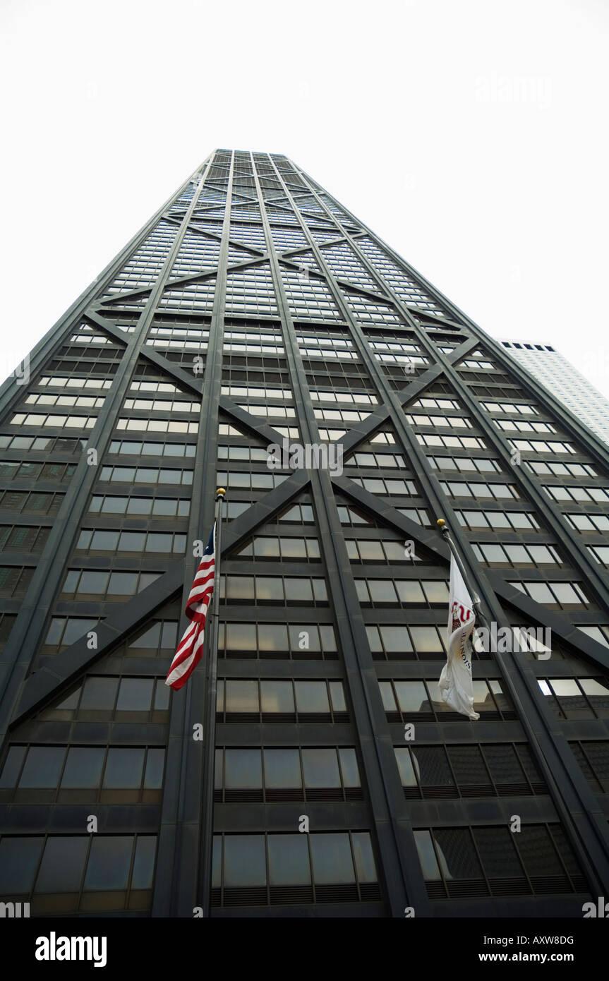 John Hancock Center, Chicago, Illinois, Stati Uniti d'America Immagini Stock