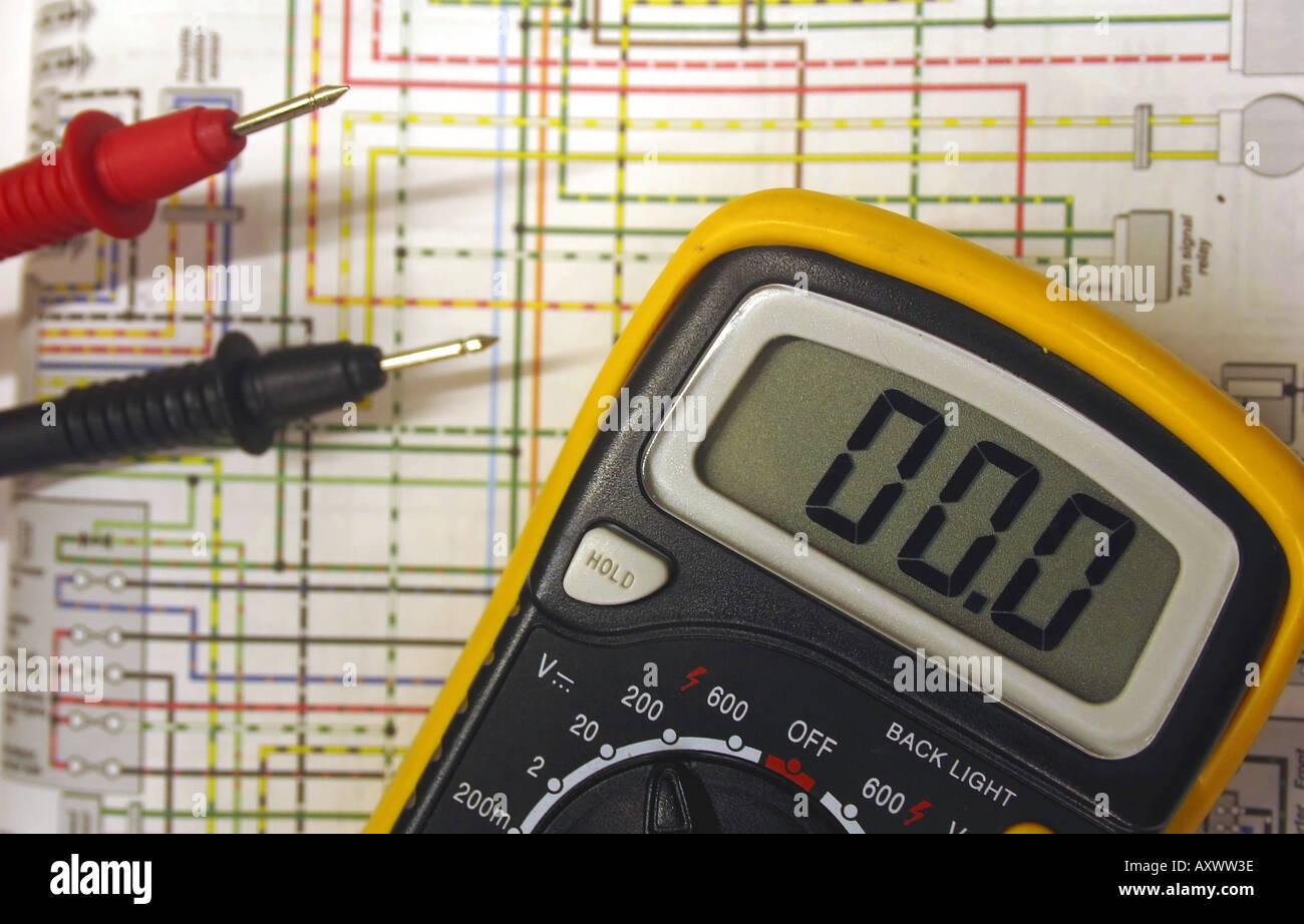 Schema Elettrico Wiring Diagram : Wiring diagram immagini wiring diagram fotos stock alamy