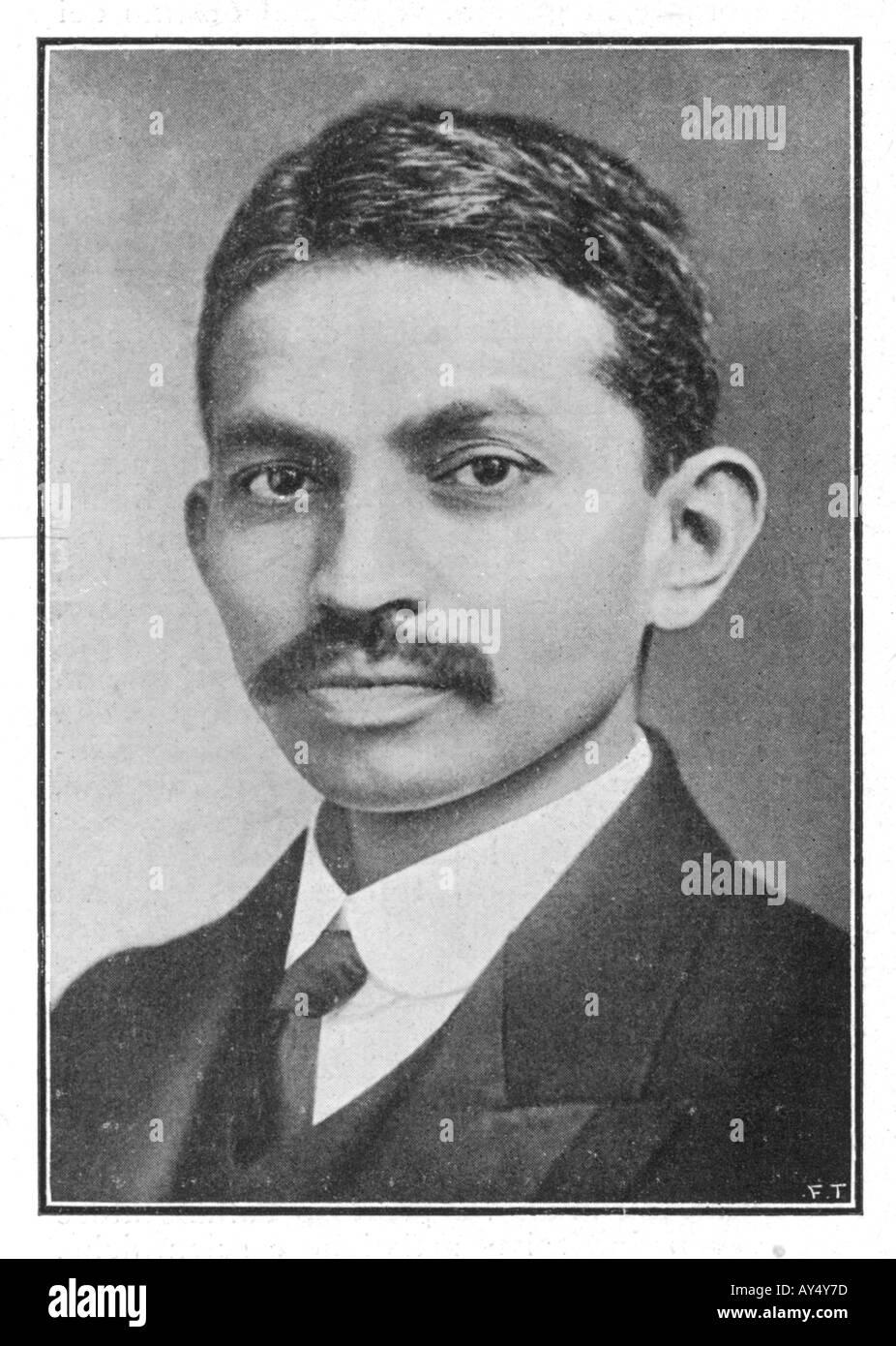Il Mahatma Gandhi Ilz Immagini Stock