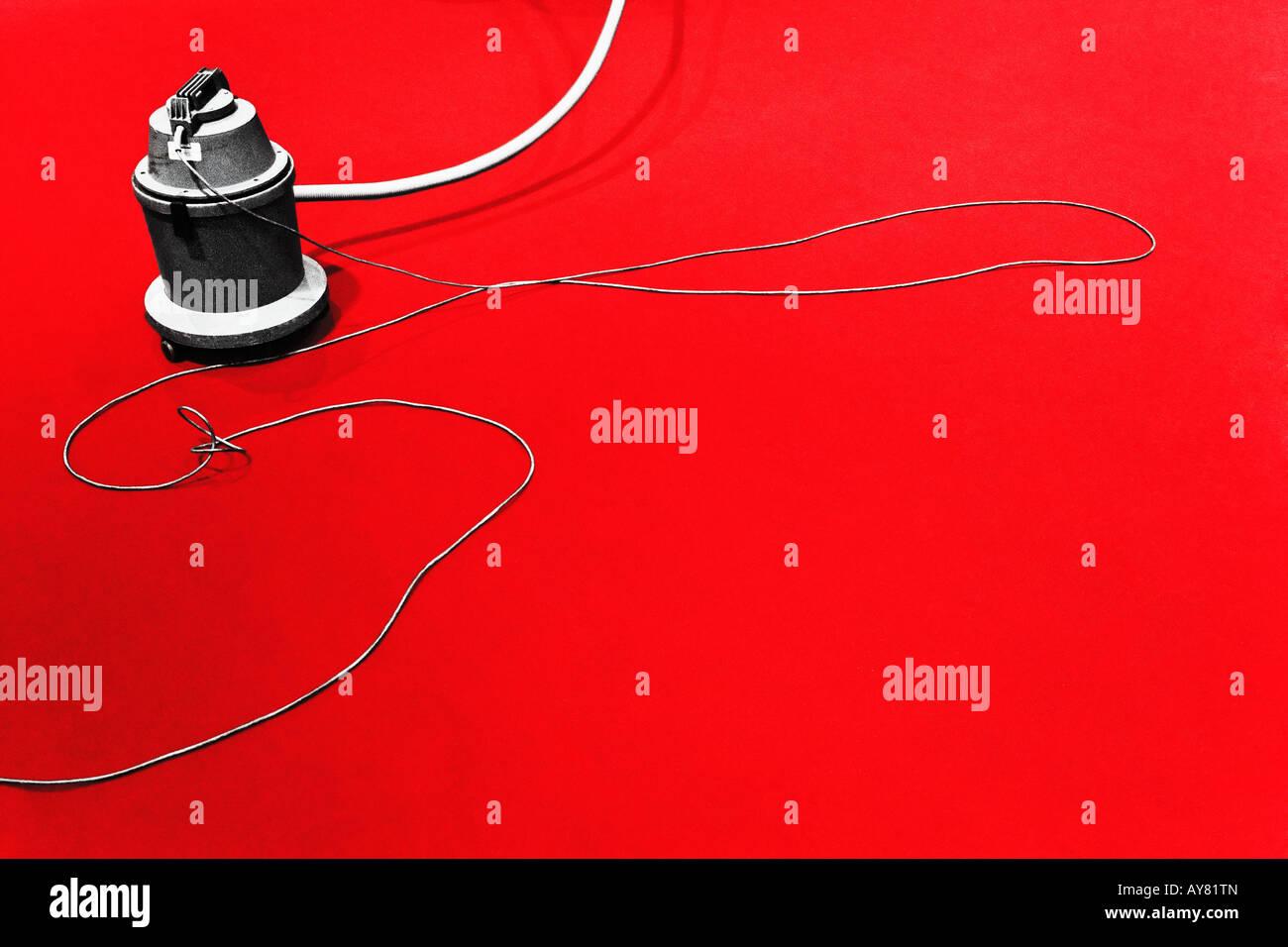 Aspirapolvere sul tappeto rosso Berlinale Immagini Stock