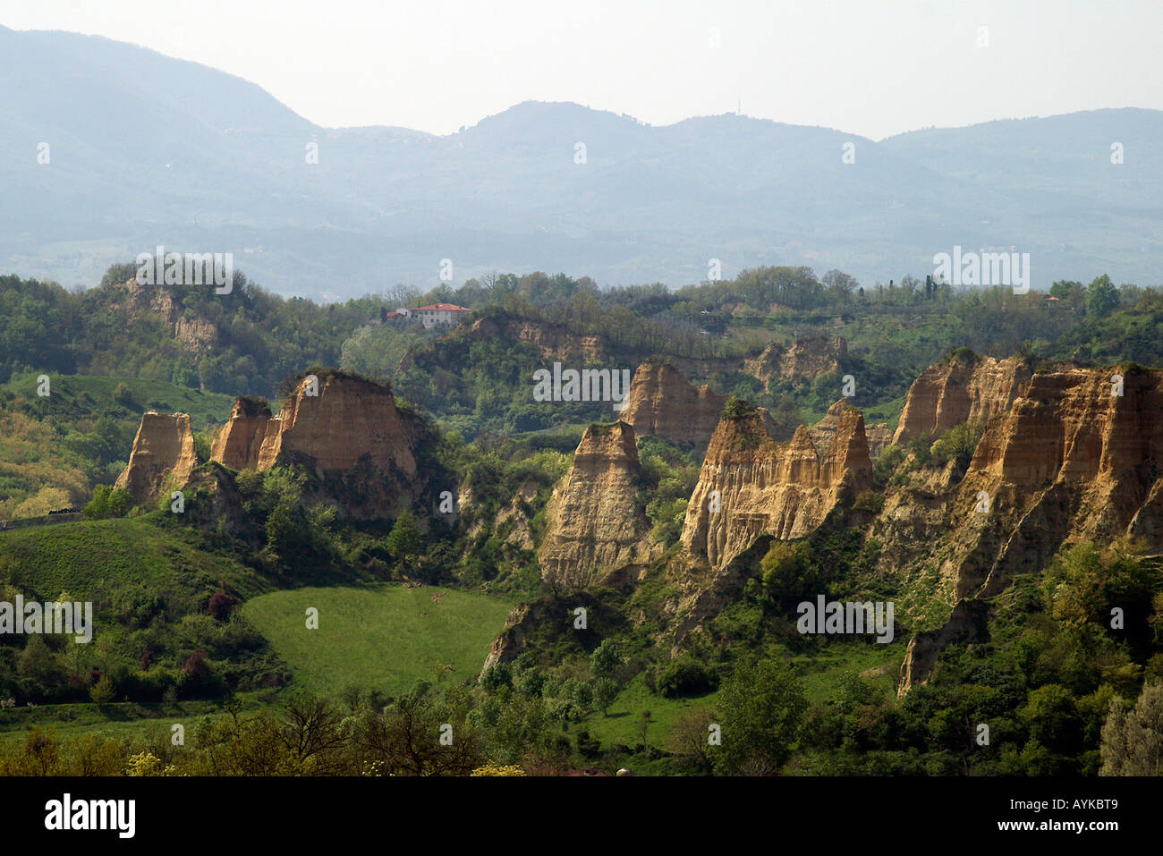 Le Balze Arezzo Toscana Italia Foto Stock