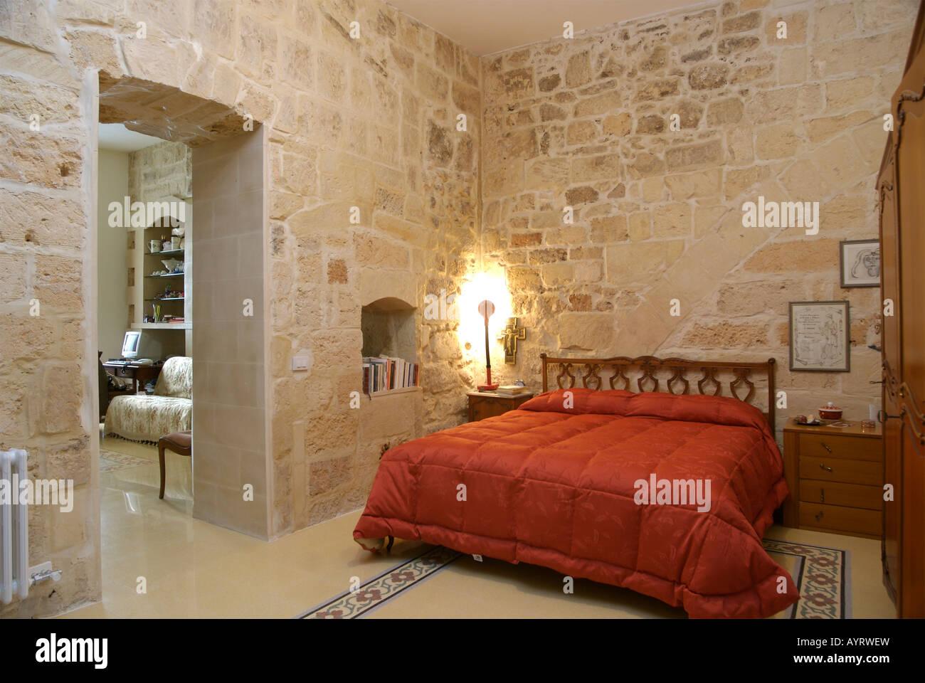 Riscaldare Camera Da Letto riscaldare la camera da letto in stile rustico con tipici