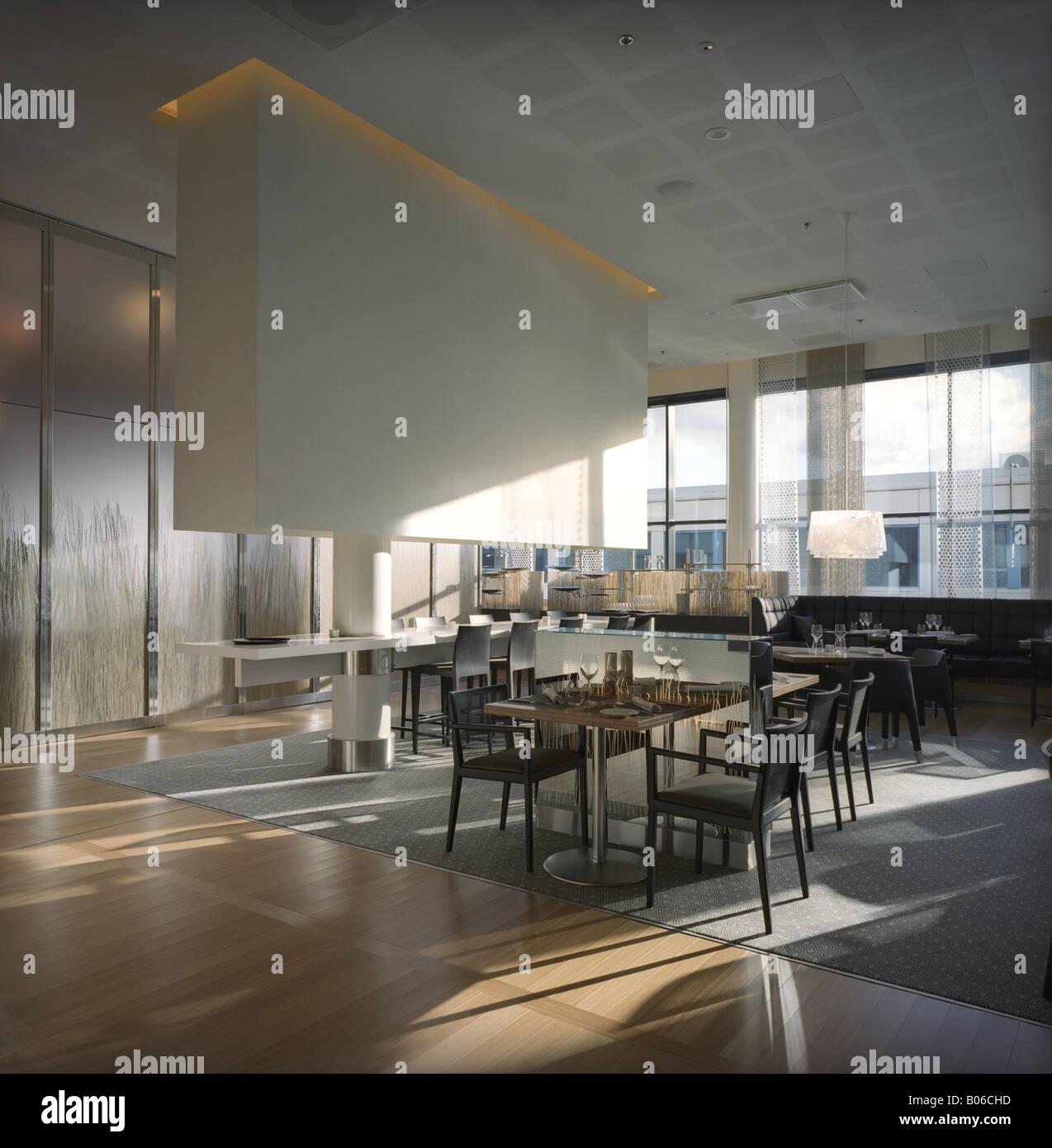 Ristorante moderno lounge interior design architettura for Interior design moderno