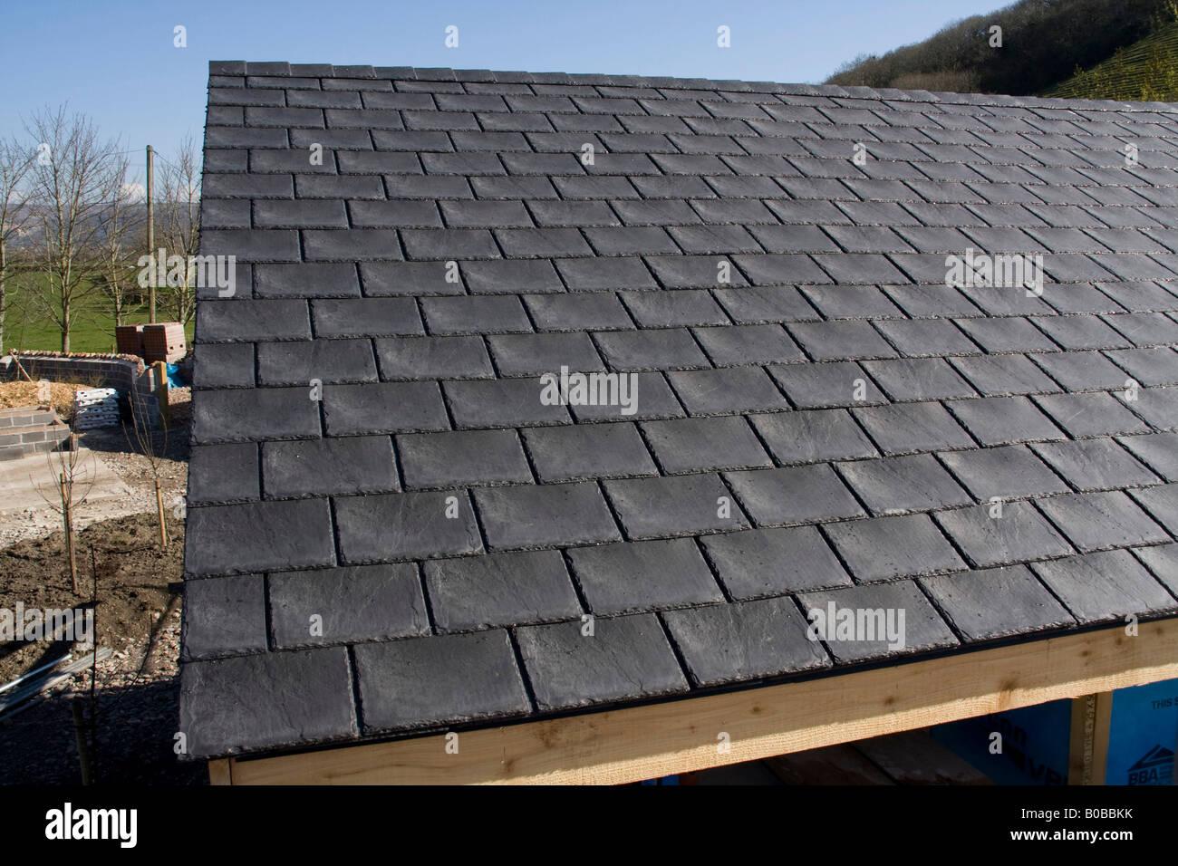 Replica tetto di ardesia piastrelle realizzate da gomma riciclata