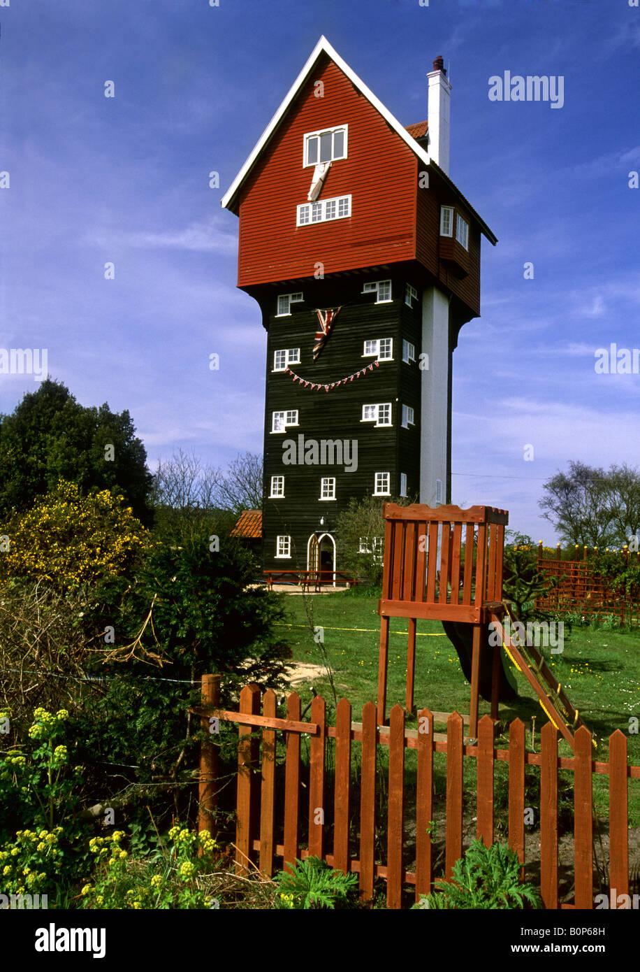 La casa tra le nuvole Thorpeness Suffolk Foto Stock