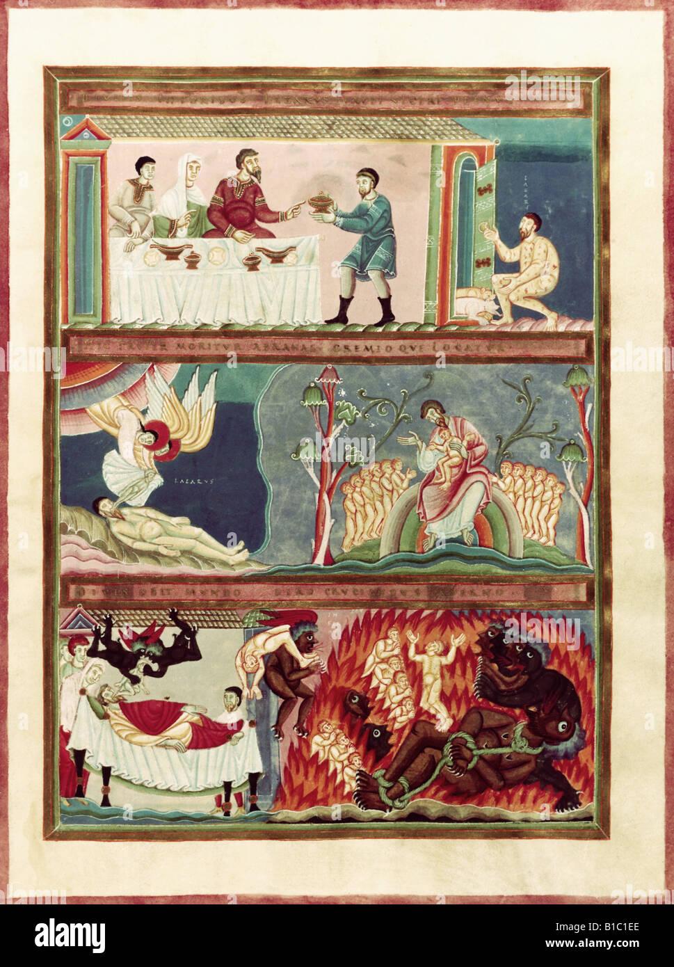 Belle Arti Larte Religiosa Libri Codex Di Echternach Circa 1030