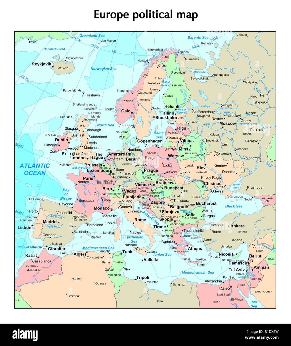 Cartina Europa 1938.Regno Unito Mappa Immagini E Fotos Stock Alamy