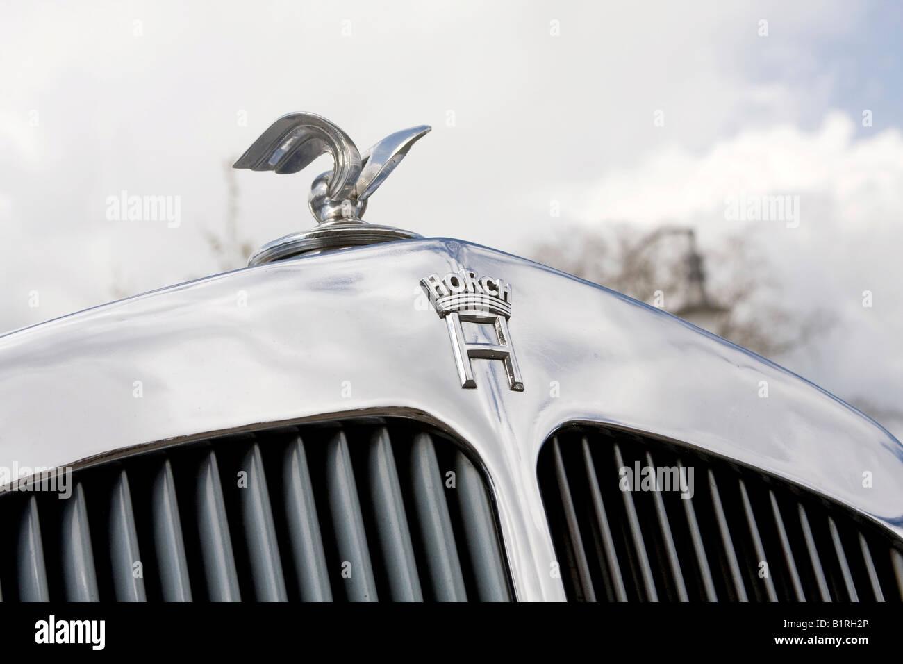 Radiatore, Horch 853, Auto Union, anno di fabbricazione 1983, auto d'epoca, un veicolo favorito da von Goering Immagini Stock