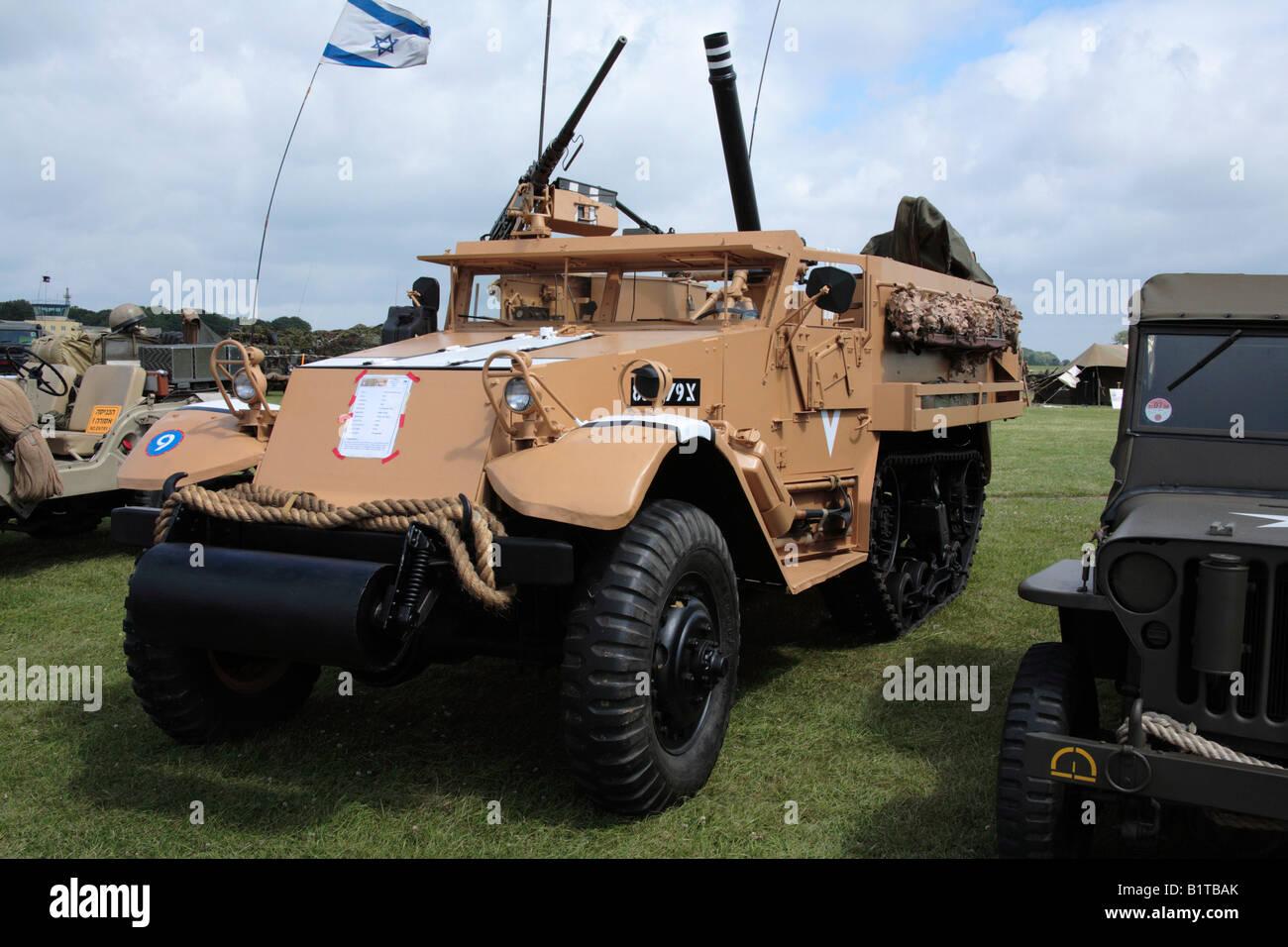 American WWII M3 A Mezza Via Nel Deserto Israeliano Camouflage Colori
