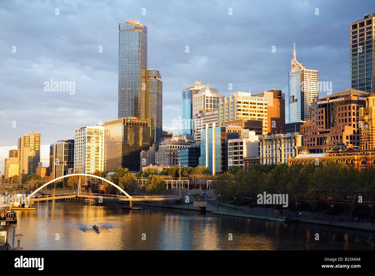 Melbourne, Victoria, Australia Immagini Stock