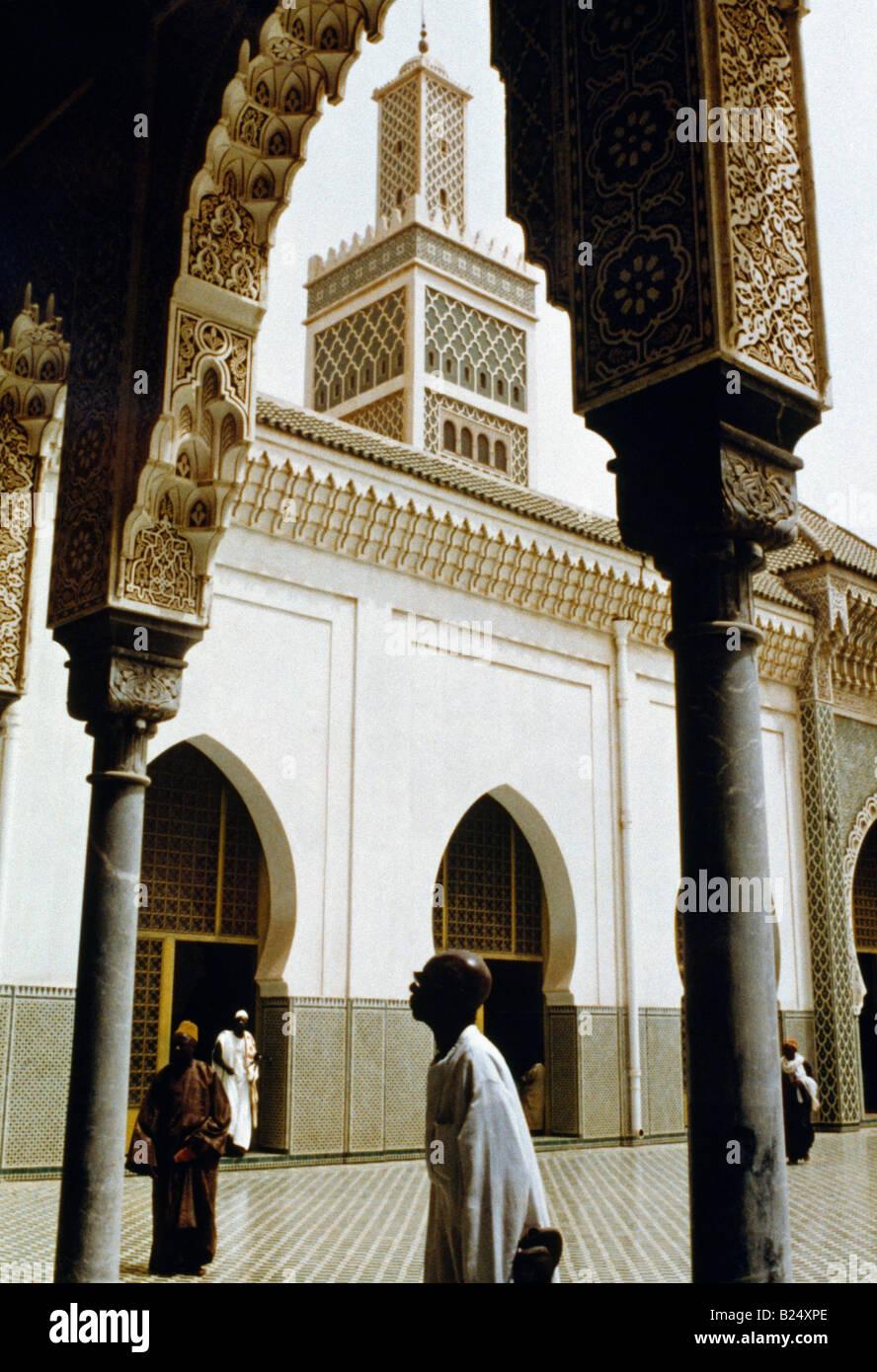 Dakar in Senegal moschea Immagini Stock
