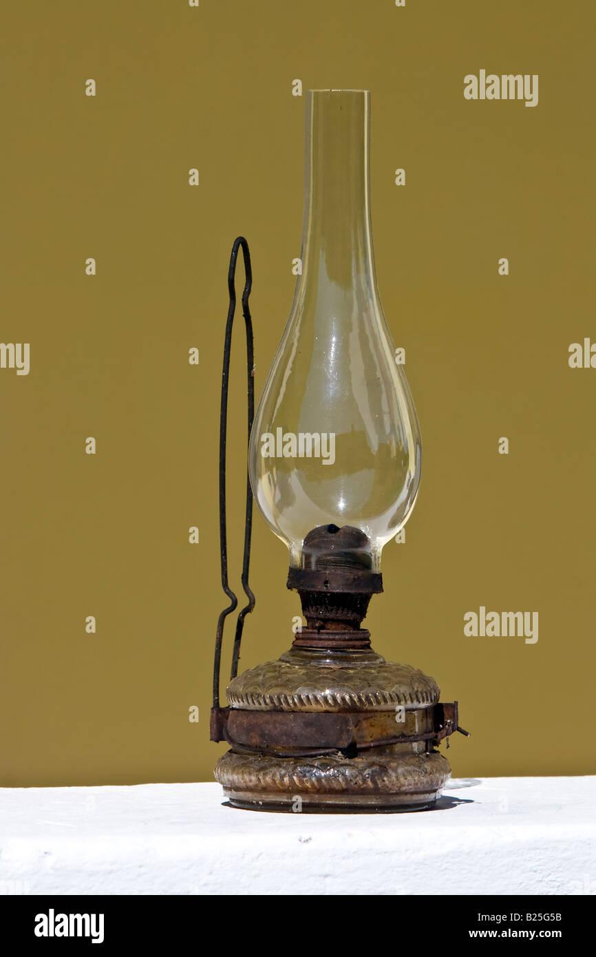 Vintage olio lampada Immagini Stock