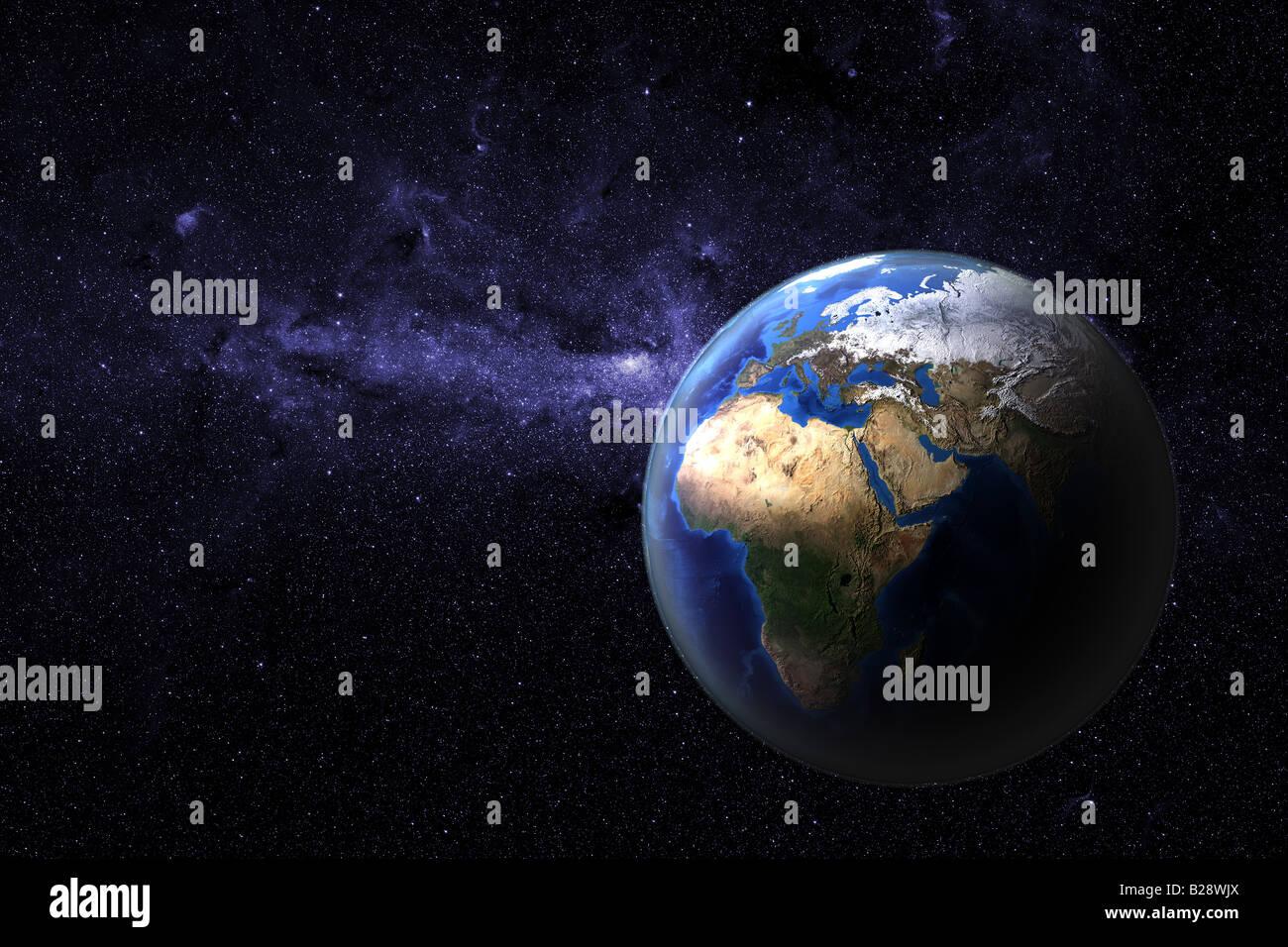 Pianeta terra Immagini Stock