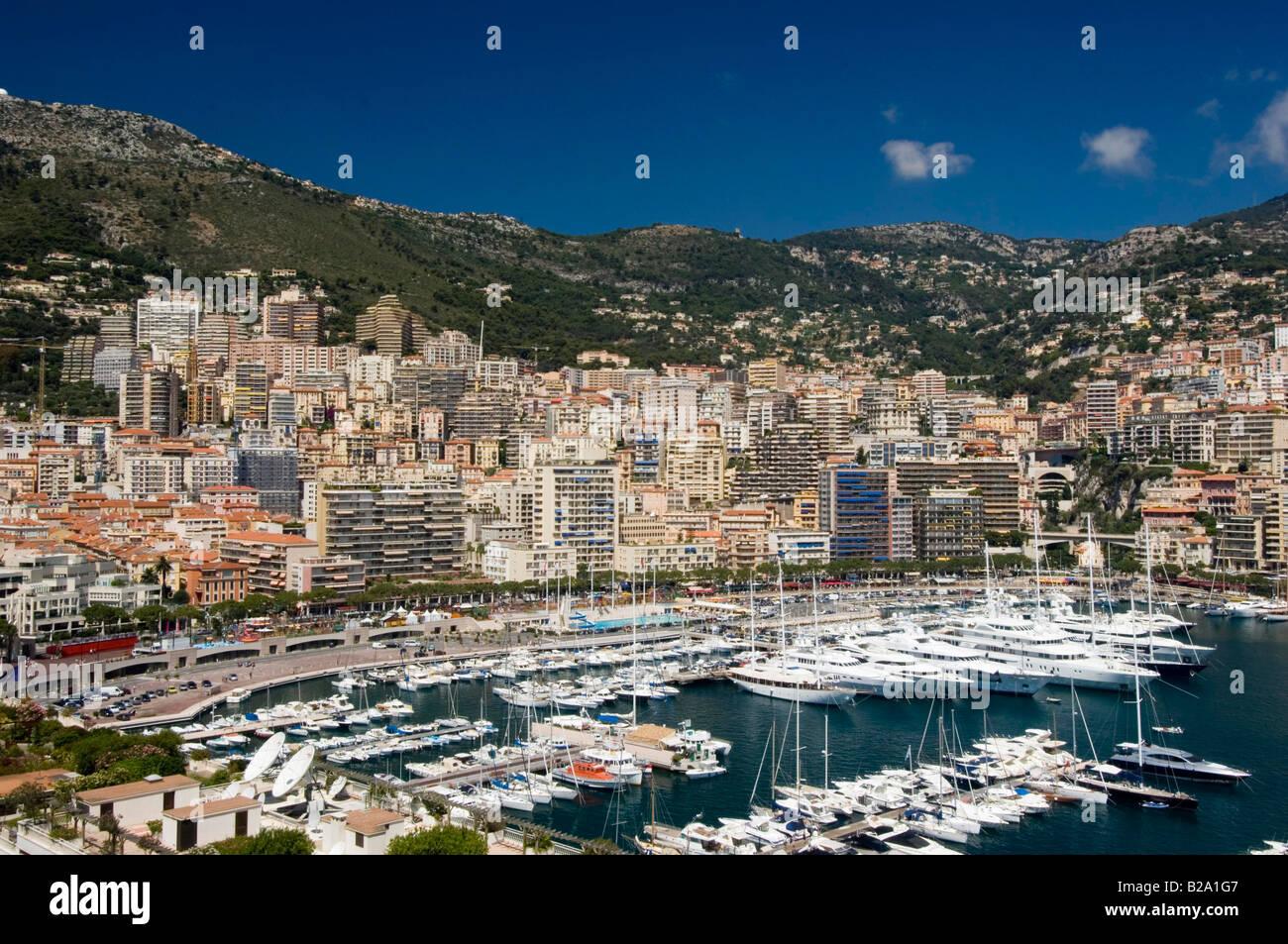 Monaco vista sopra la porta la data 12 02 2008 Ref WP B726 110139 0040 credito obbligatoria World Pictures Photoshot Immagini Stock
