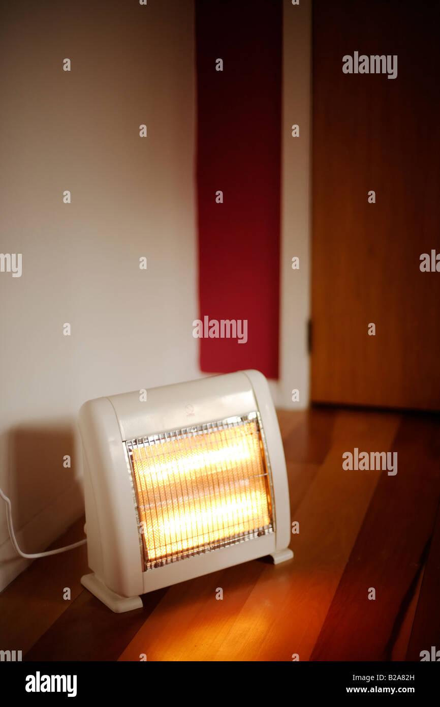 Infrarossi lampada elettrica riscaldamento a pavimento Immagini Stock