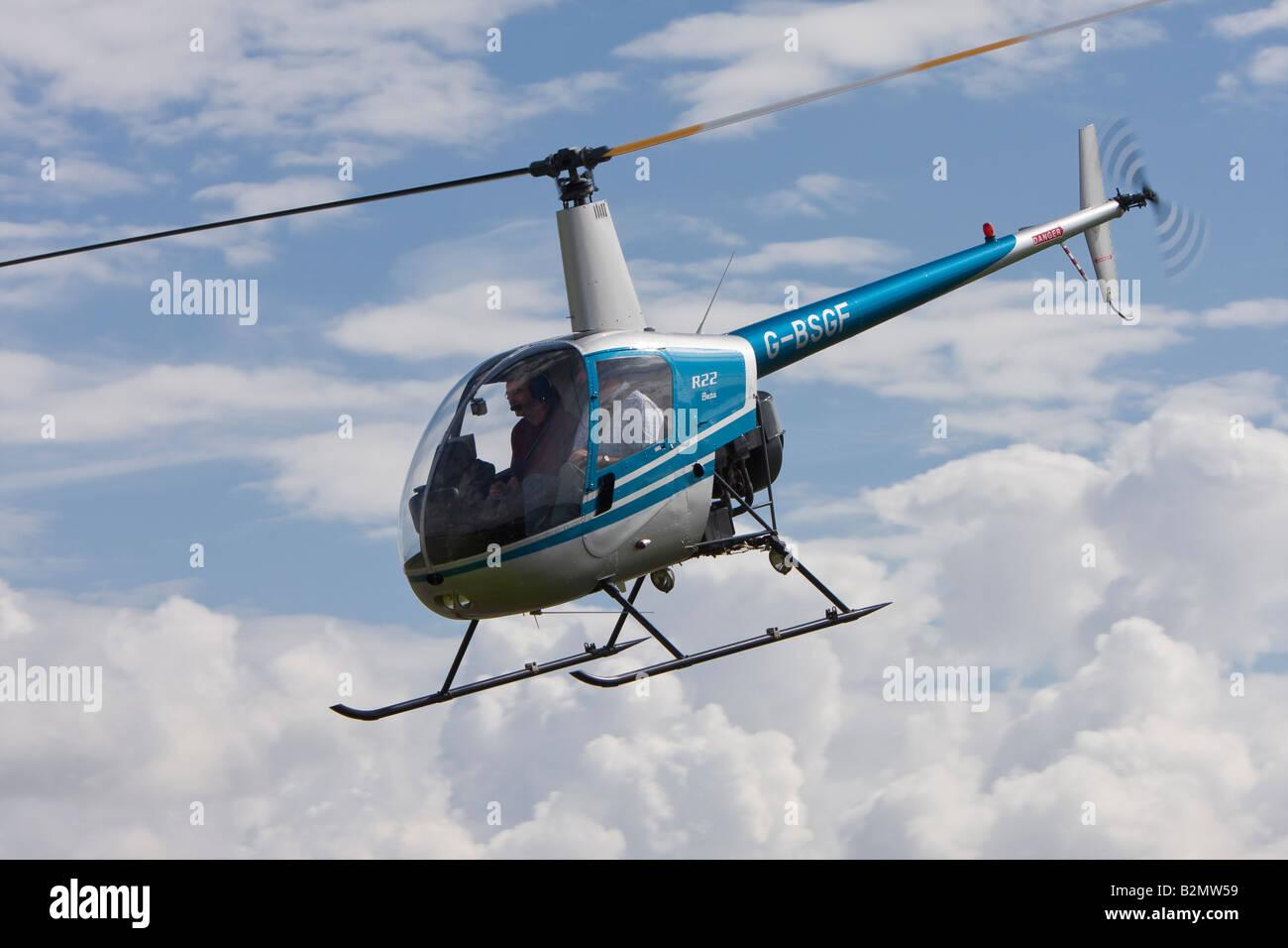 Elicottero R22 : Robinson r beta elicottero registrato g bsgf foto immagine