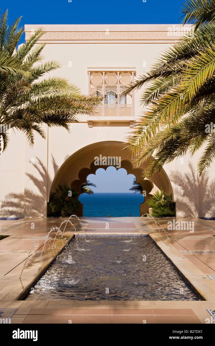 Medio Oriente, Oman, Muscat Al Jissah Shangri La Resort Immagini Stock