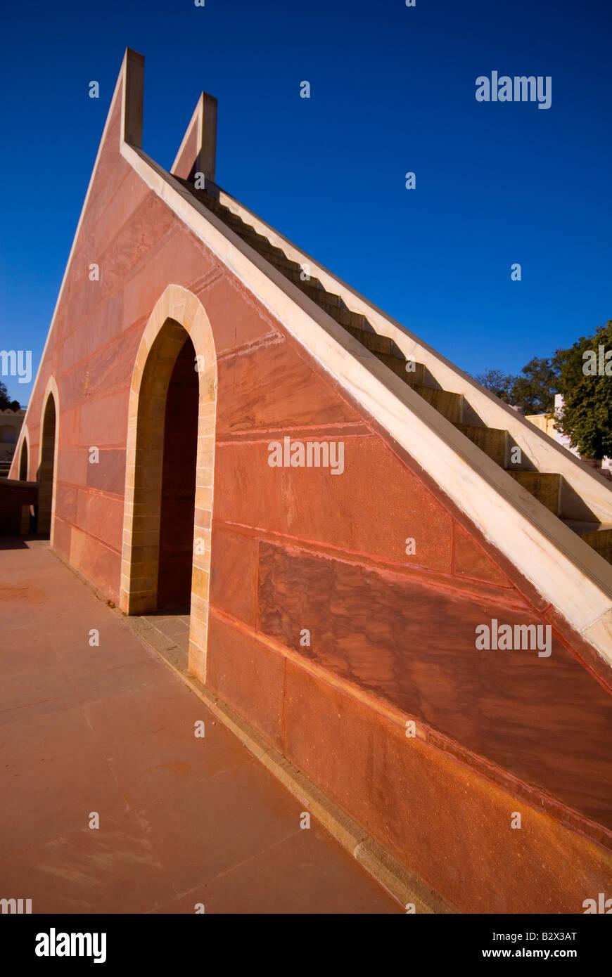 Jantar Mantar, città di Jaipur, Rajasthan, India, subcontinente, Asia Immagini Stock