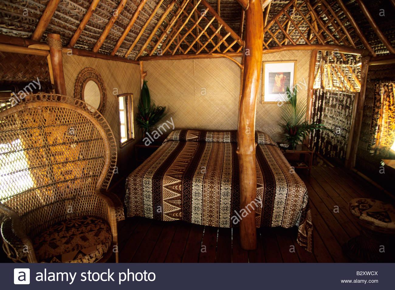 Polinesia francese,Rangiroa Atoll,kia ora sauvage hotel Immagini Stock