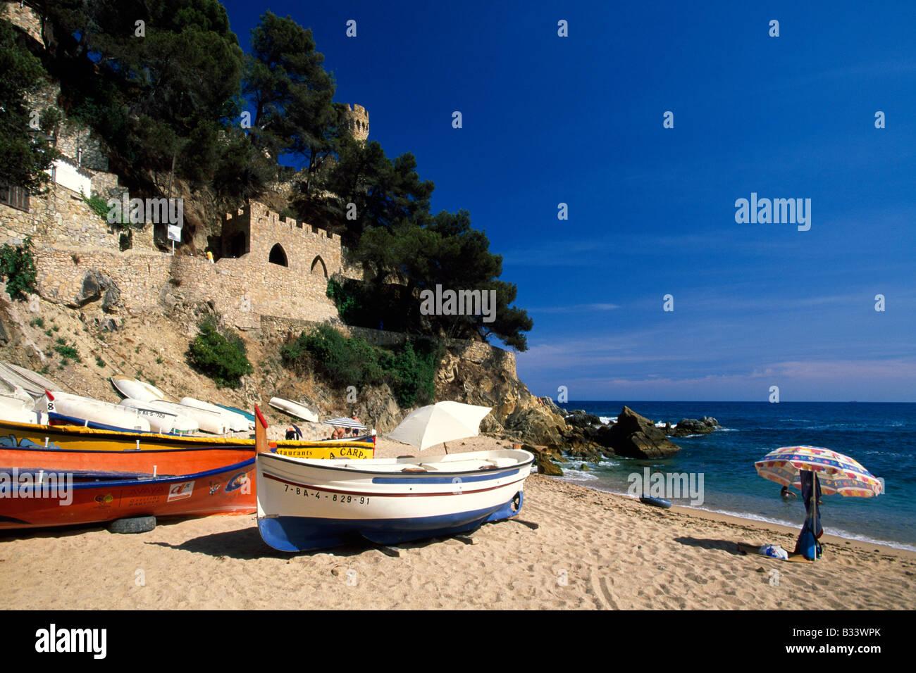 Lloret de Mar Costa Brava Catalogna Spagna Immagini Stock