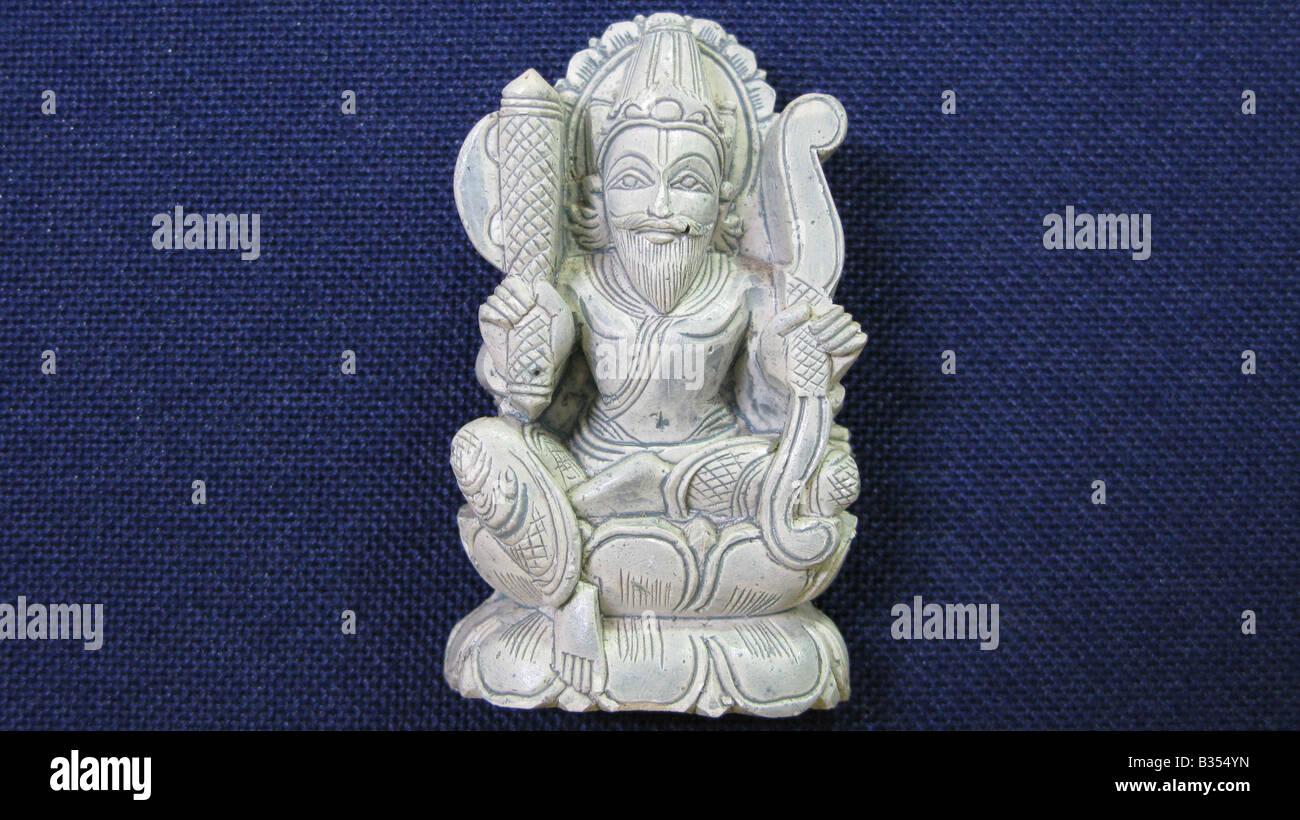 PARASURAMA Avatar in cui signore Vishnu incarna in se stesso come un sacerdote brahman in questo mondo. Immagini Stock