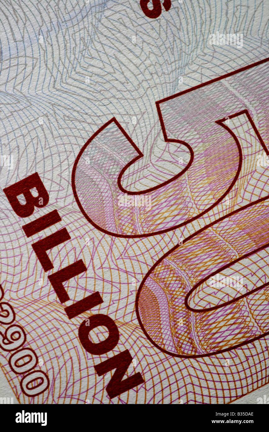 'Miliardi di dollari' Immagini Stock