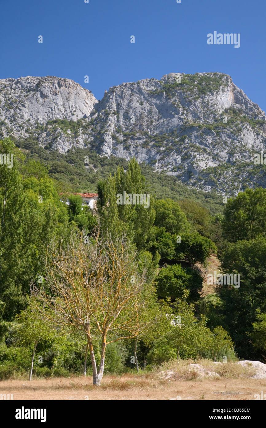 Picos de Europa Mountains Immagini Stock