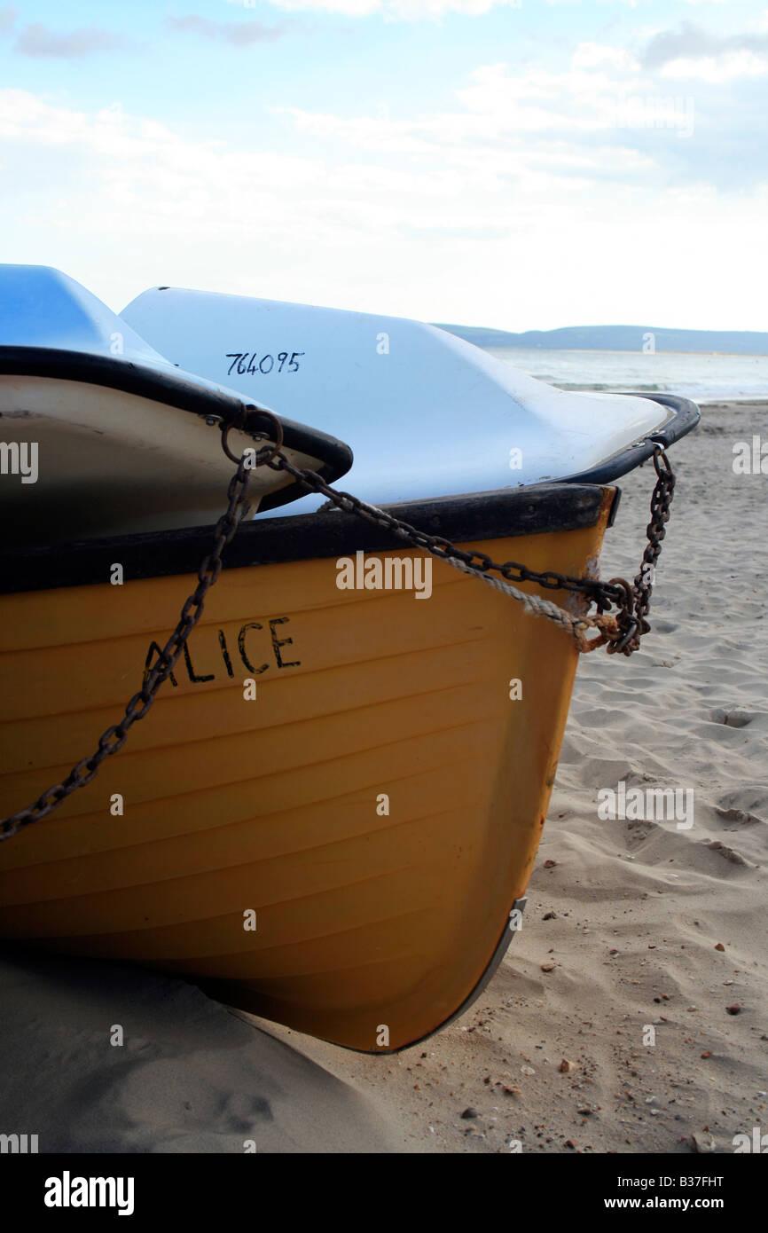 Una barca chiamata Alice. Foto di Kim Craig. Immagini Stock
