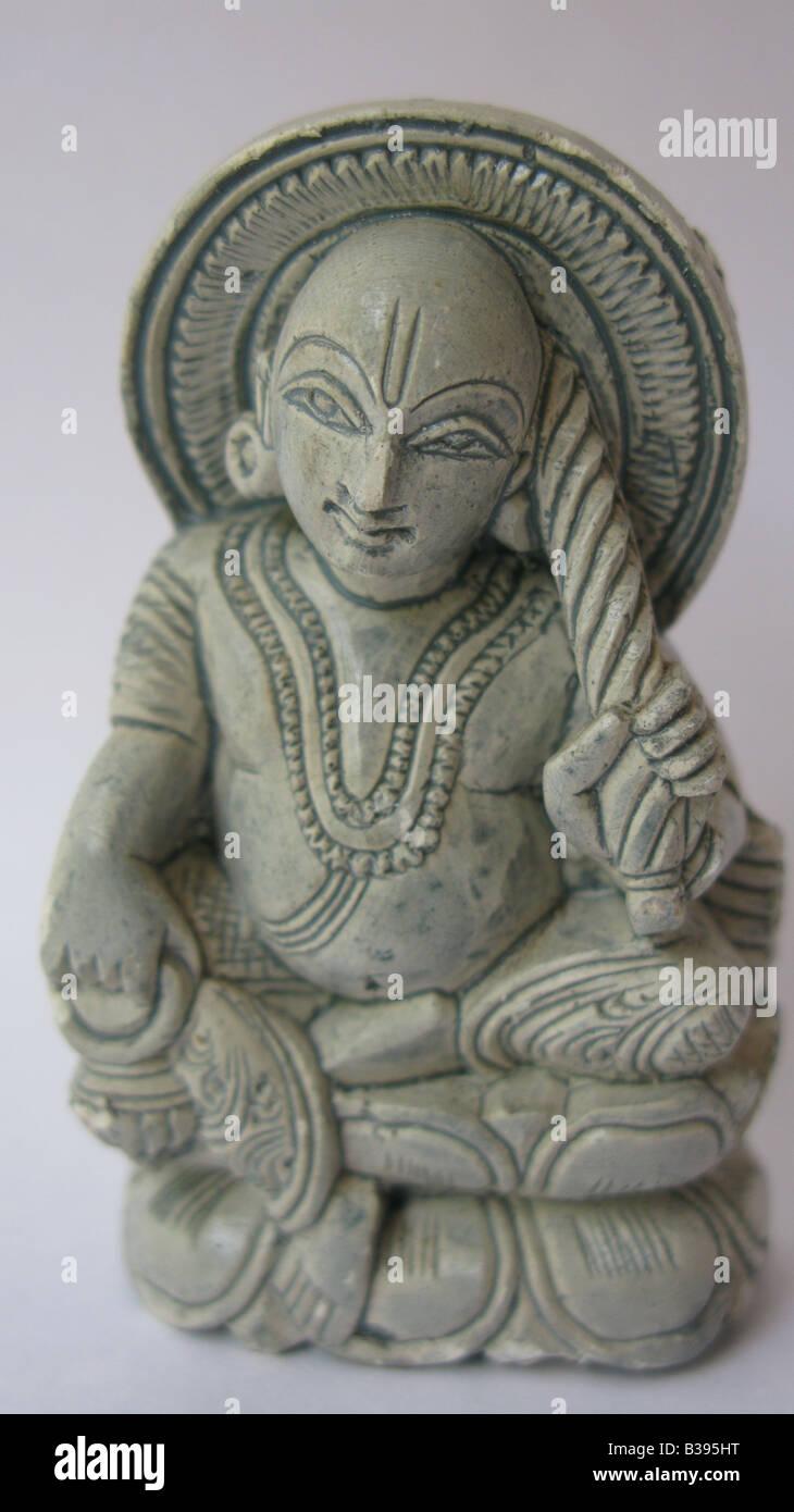 Questo è Vamana avatar del signore Vishnu, primo avatar del signore Vishnu che appare con una completamente Immagini Stock