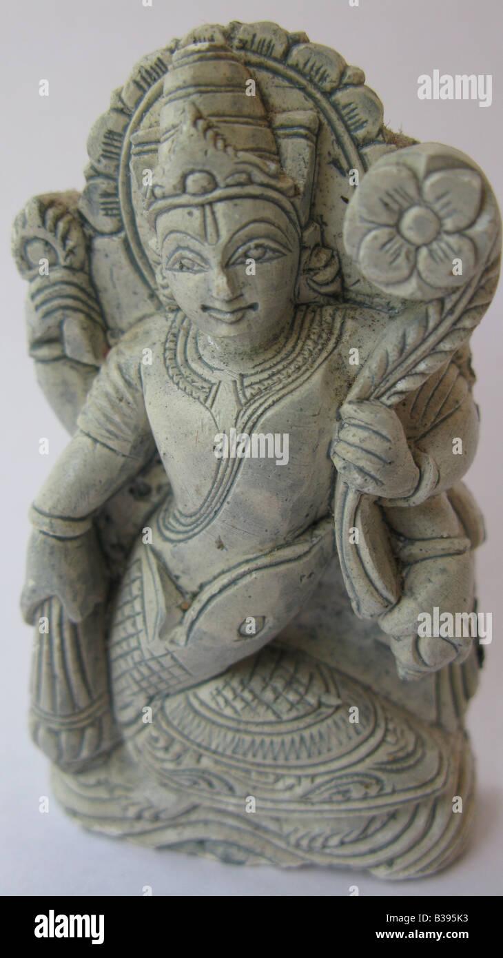 Kurma avatar di Vishnu. Immagini Stock