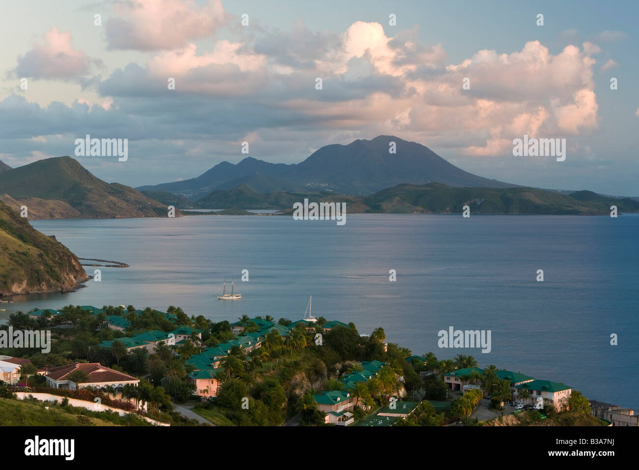 Saint Kitts e Nevis, Saint Kitts, Brimstone Hill, Brimstone Hill Fortress Foto Stock