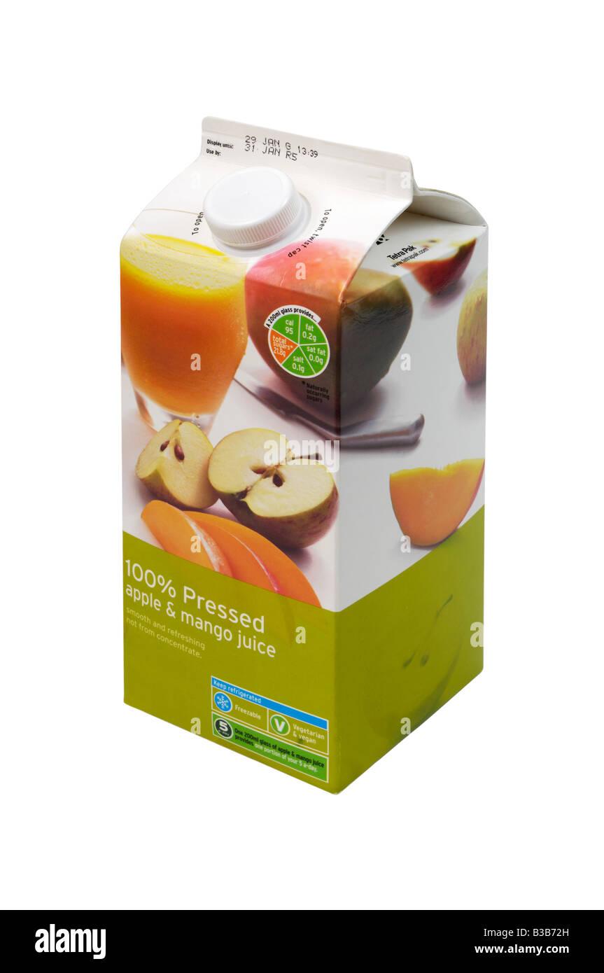 Apple juice carton immagini & apple juice carton fotos stock alamy