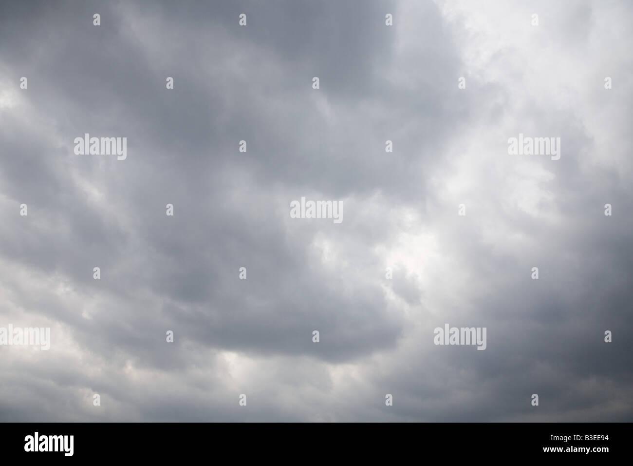 Full frame di immagine di un cielo nuvoloso Immagini Stock