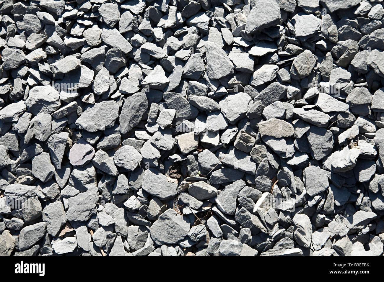 La piena immagine di frame di pietre Immagini Stock