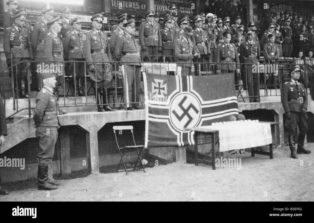Premi di calcio / Fronte occidentale / 1940 Immagini Stock