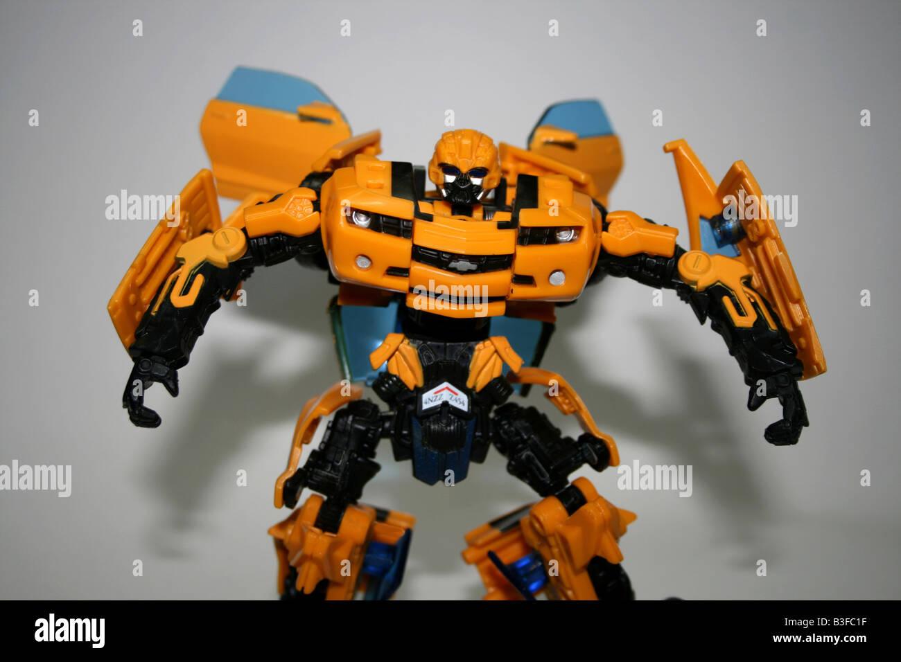 Cartone diventato transformers movie giocattoli bumblebee di