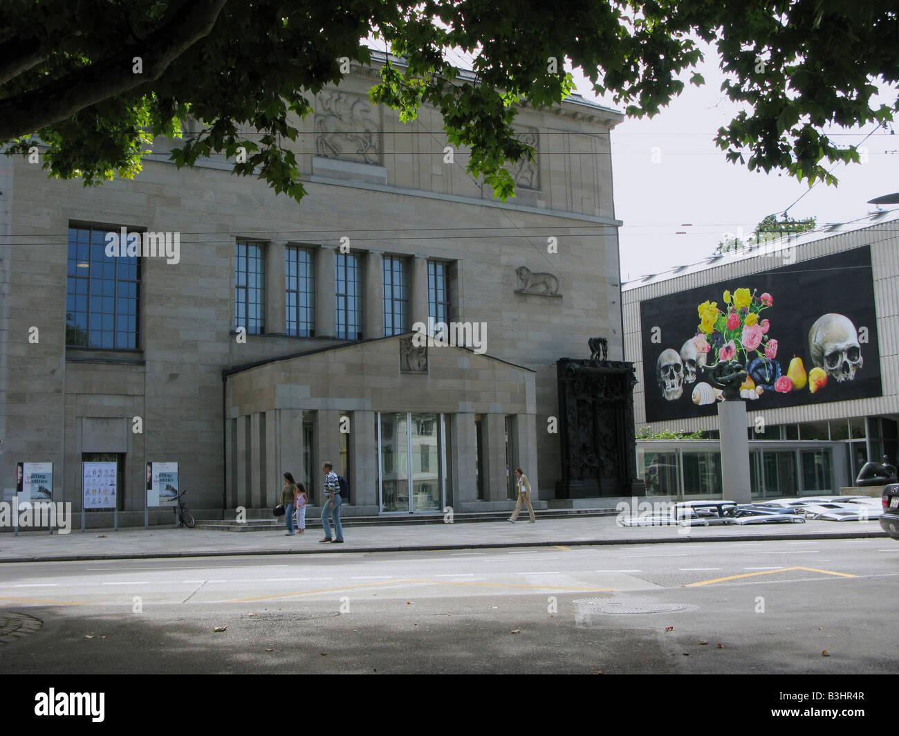 Kunsthaus di Zurigo museum Immagini Stock